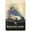 Blechschild Mercedes-Benz Silver Arrow