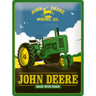 Blechschild John Deere - Made With Pride