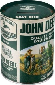 Spardose John Deere Quality Farm Equipment