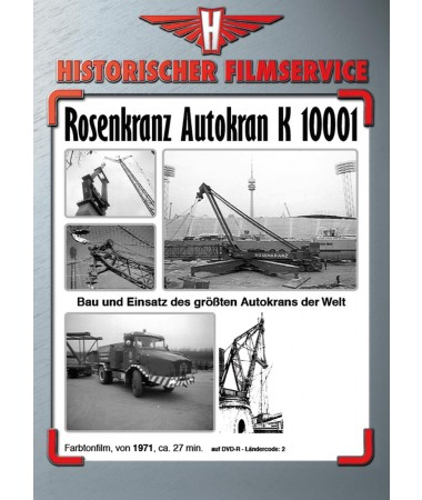rosenkranz autokran k 10001 historischer. Black Bedroom Furniture Sets. Home Design Ideas