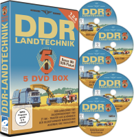DDR Landtechnik Box - 5 DVDs